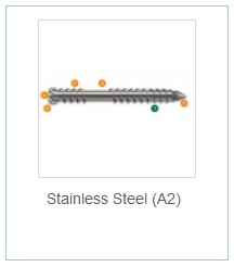 Stainless Steel (A2)