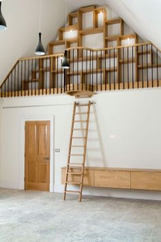 rolling-ladder-kitchen-vaulted-area