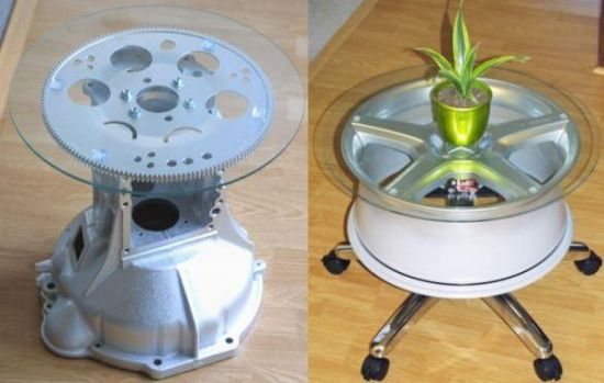 Automotive furniture auto parts reassembled for unique home decor 1 a7whg 58 teraionfo