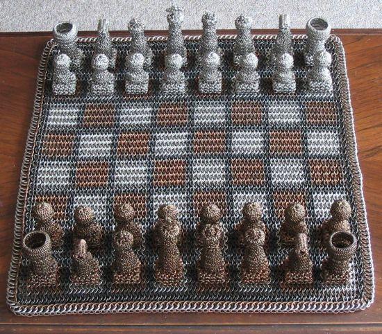 Chainmail Chess Set 02
