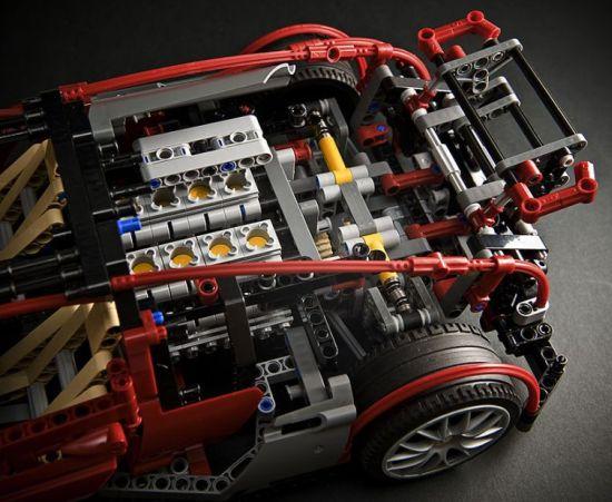 bugatti veyron gets a lego mockup - designbuzz
