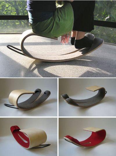 Rocking Slippers from Yael Mer RawEdges Design Studio