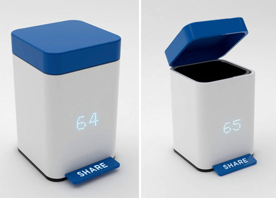 share trash can