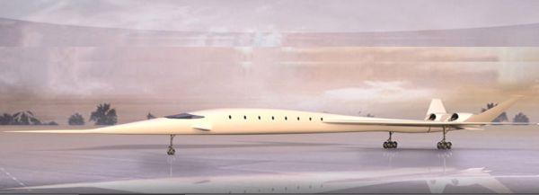 SonicStar supersonic business jet concept