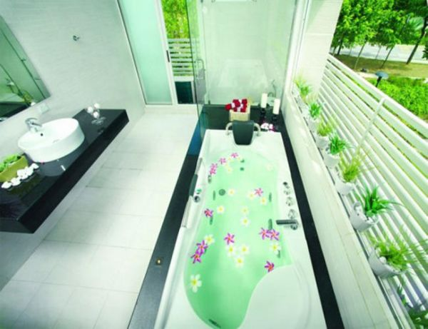 Design ideas 2013 for an eco friendly bathroom designbuzz for Eco friendly bathroom remodel