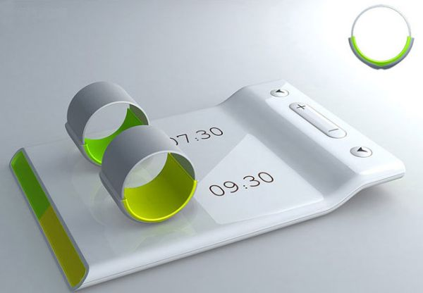 Ring alarm clock