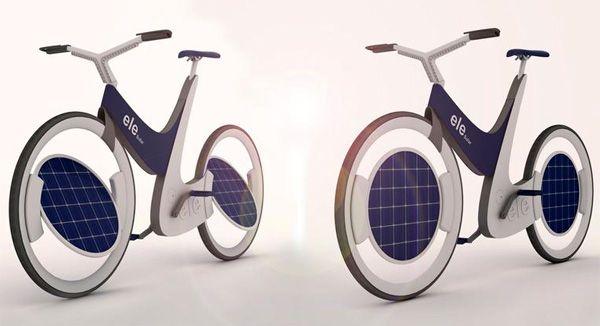 Ele solar bicycle