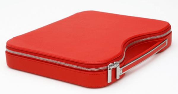 Leather Metropolitan Laptop Briefcase