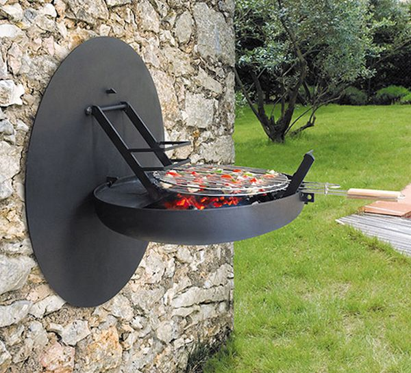 Focus Creations Wall Mounted Barbecue