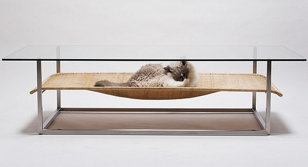 Hammock Table  by Koichi Futatsumata