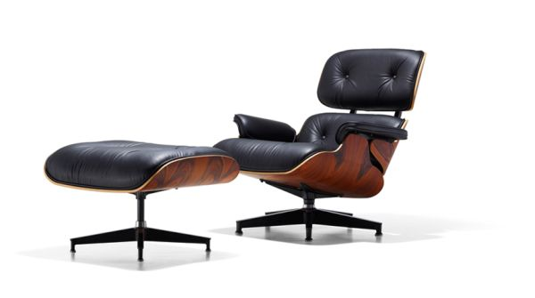 Eames Lounge Chair with Ottoman by Herman Miller