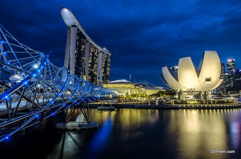 Helix Bridge- Singapore