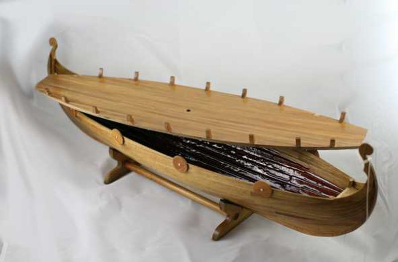 Viking boat coffin