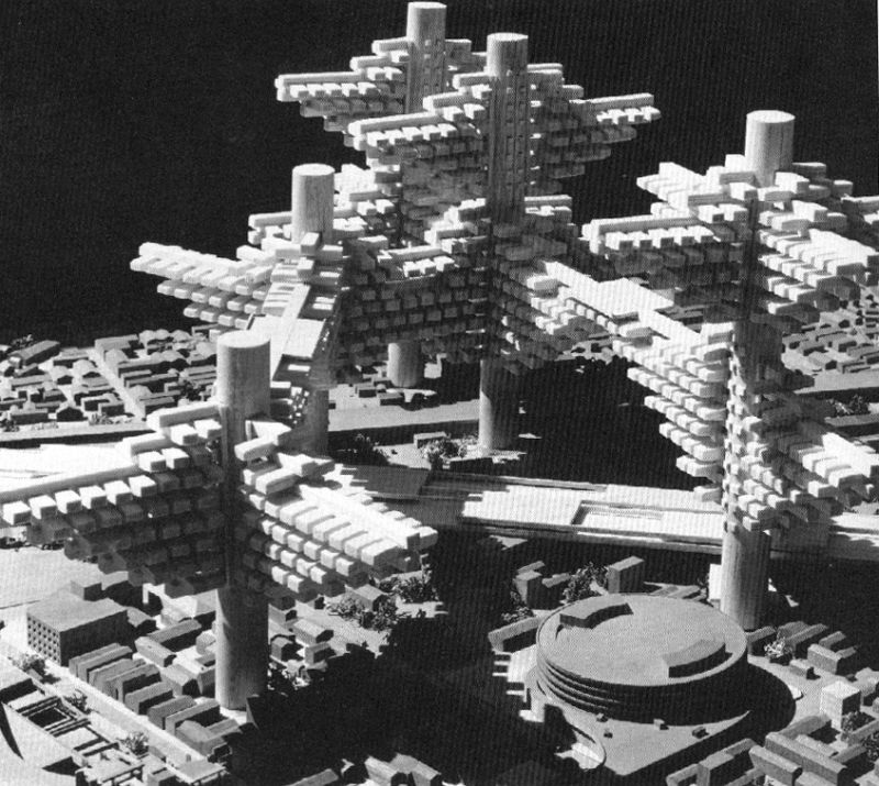 Arata Isozaki's 'City in the Air'