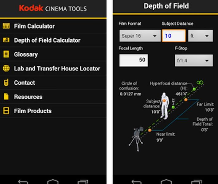 Kodak Cinema Tools