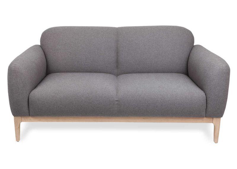 Morten two-seater sofa in the color Flavio grey
