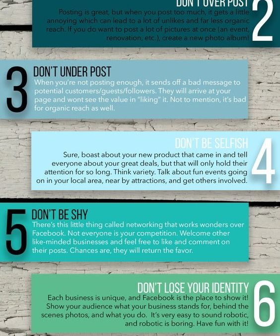 8 Things You Shouldn't Do On Facebook