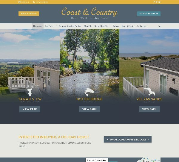 Coast And Country Parks Design By Creative