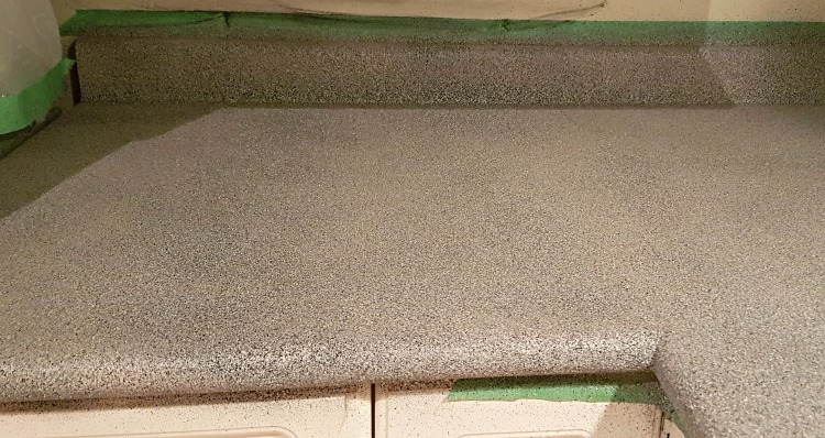 Stone finish counters