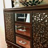 How to make a Mirrored Buffet from a Dresser