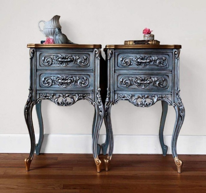 Do you love Painted furniture, I do! Check out these beautiful and inspiring painted designs. So many styles of furniture including French provincial, mid-century modern, chunky, bombay and whimsical. Styles include glazing, blending, painting staining, waxing and chalk paint! Something for everyone.