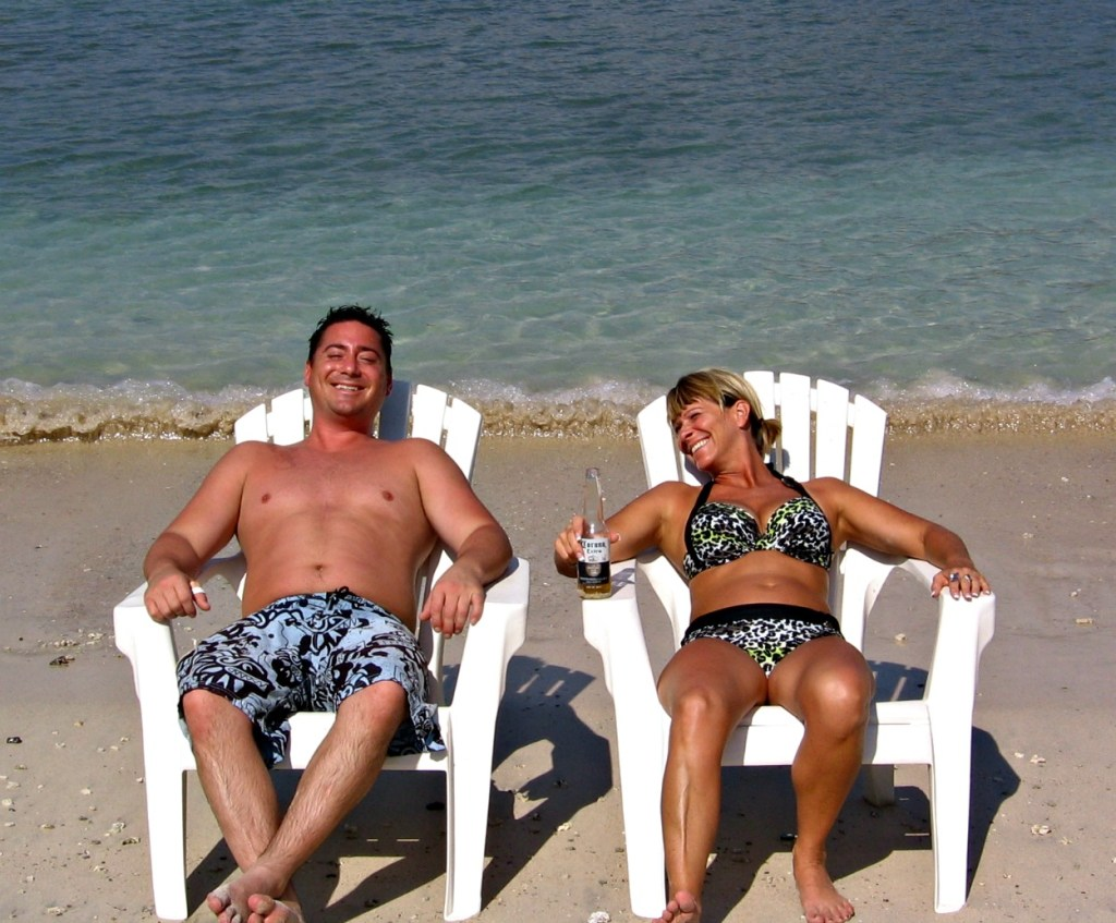 Greg and Deneen in Mexico in 2012, Zihuatanejo