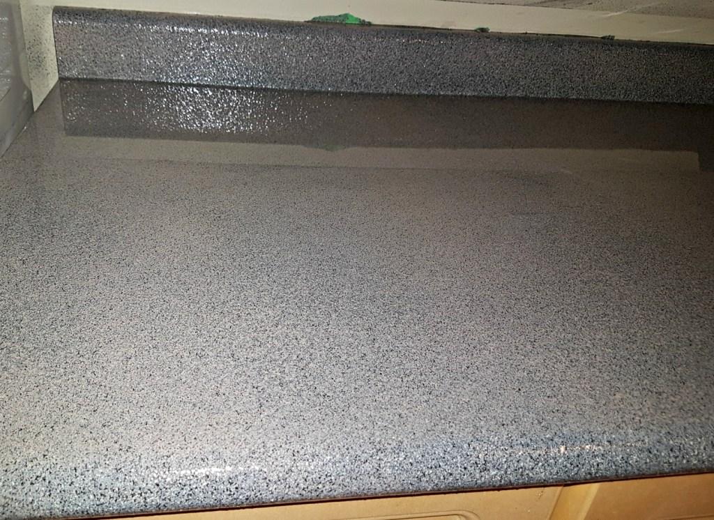 Envirotex Lite epoxy on kitchen counters