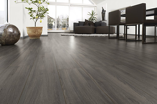 Shaded Oak Laminate flooring, Home depot, Greg's condo