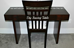 DIY Sewing Table – Week 3 -$100 Room Challenge