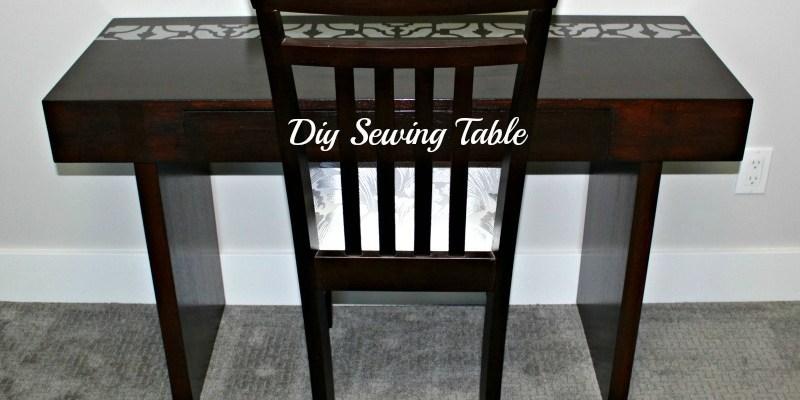 DIY Sewing Table – Week 3 -$100 Room Challenge