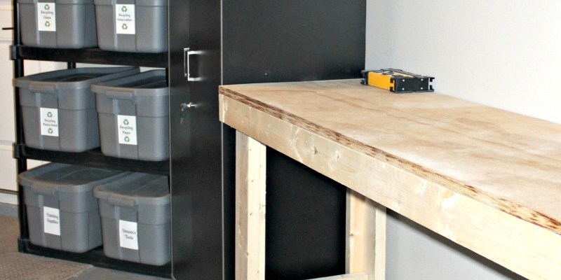 Add storage to your garage
