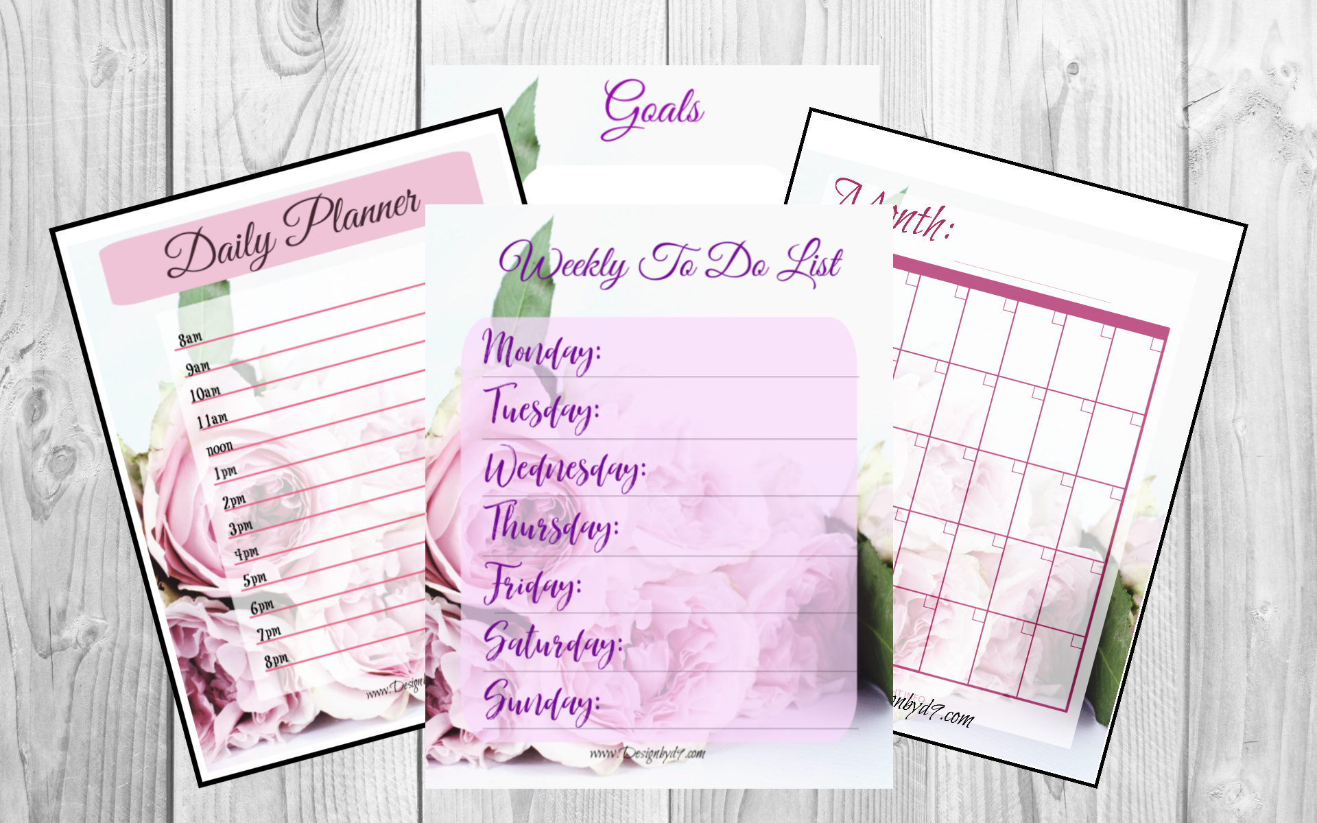 white board organizational printables-2