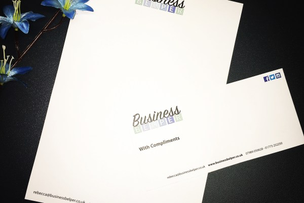 Business Belper Letterhead & Compliment Slips