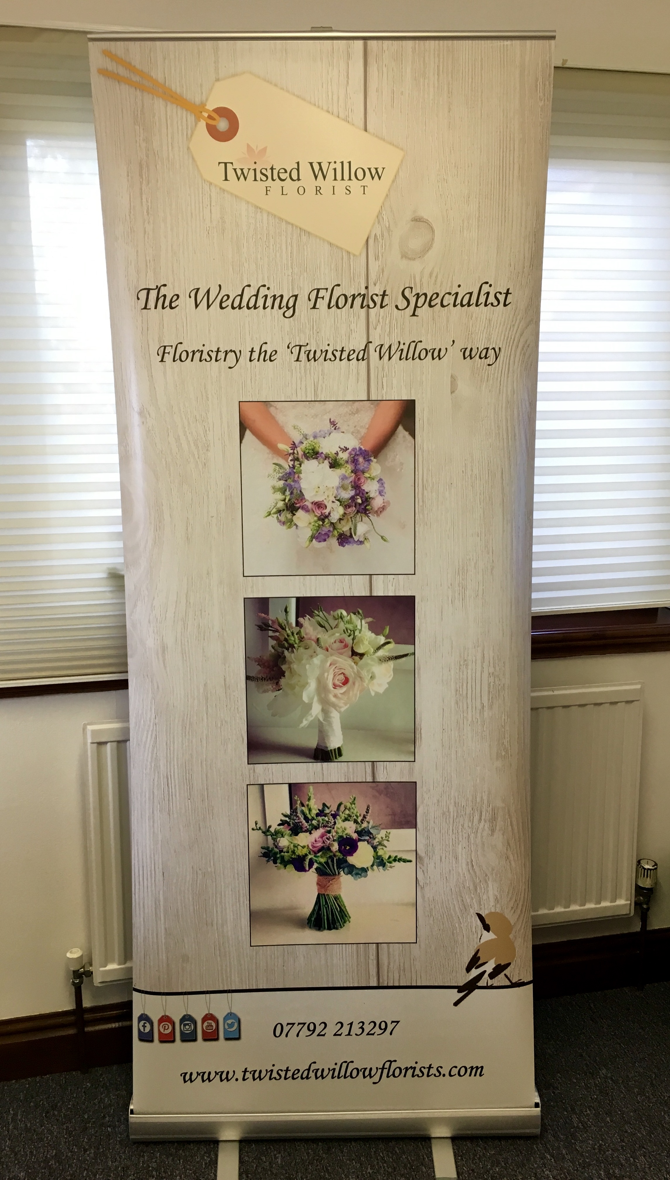 Roller Banner - Twisted Willow Florist