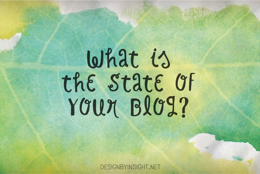 what is the state of your blog?