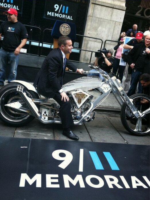 911 Memorial Bike by Paul Teutul Jr and Paul Jr Designs