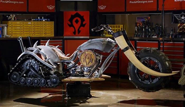 World of Warcraft Horde Bike by Paul Teutul Jr and Paul Jr