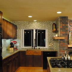 Copper Kitchen Faucet Commercial Flooring Epoxy Remodel - Design By Misha