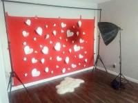 DIY Valentines Photo Backdrop | Design by Numbers