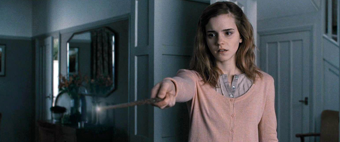 hermione wipes parents memories