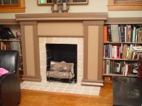 25+ Stunning Fireplace Mantel Shelf Ideas - DesignCanyon