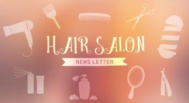 美容院のニュースレターのデザインをする時に意識したこと&お世話になった素材サイト
