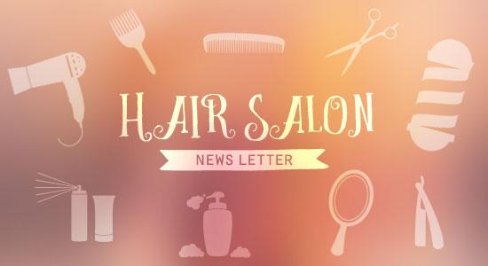 美容院のニュースレターをデザインする時に意識したこと&お世話になった素材サイト