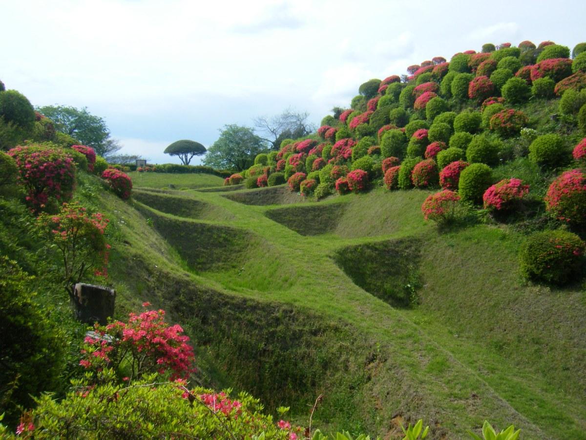 富士山・駿河湾を始め、雄大な自然を一望でき、季節には、ツツジ・アジサイ・スイレンが楽しめます。