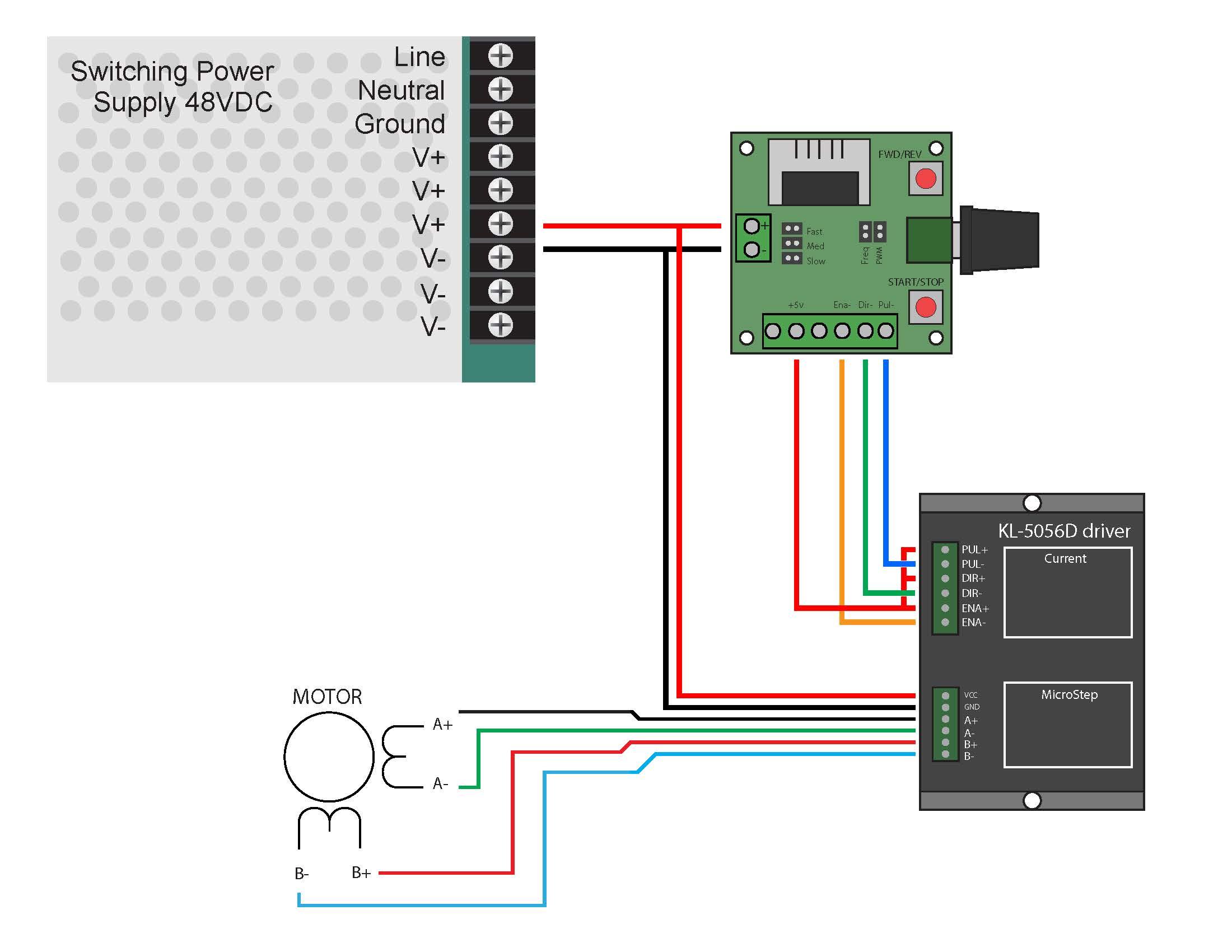 medium resolution of single axis pulse generator stepper controller wiring diagram the blog single pulse switch single pulse wiring