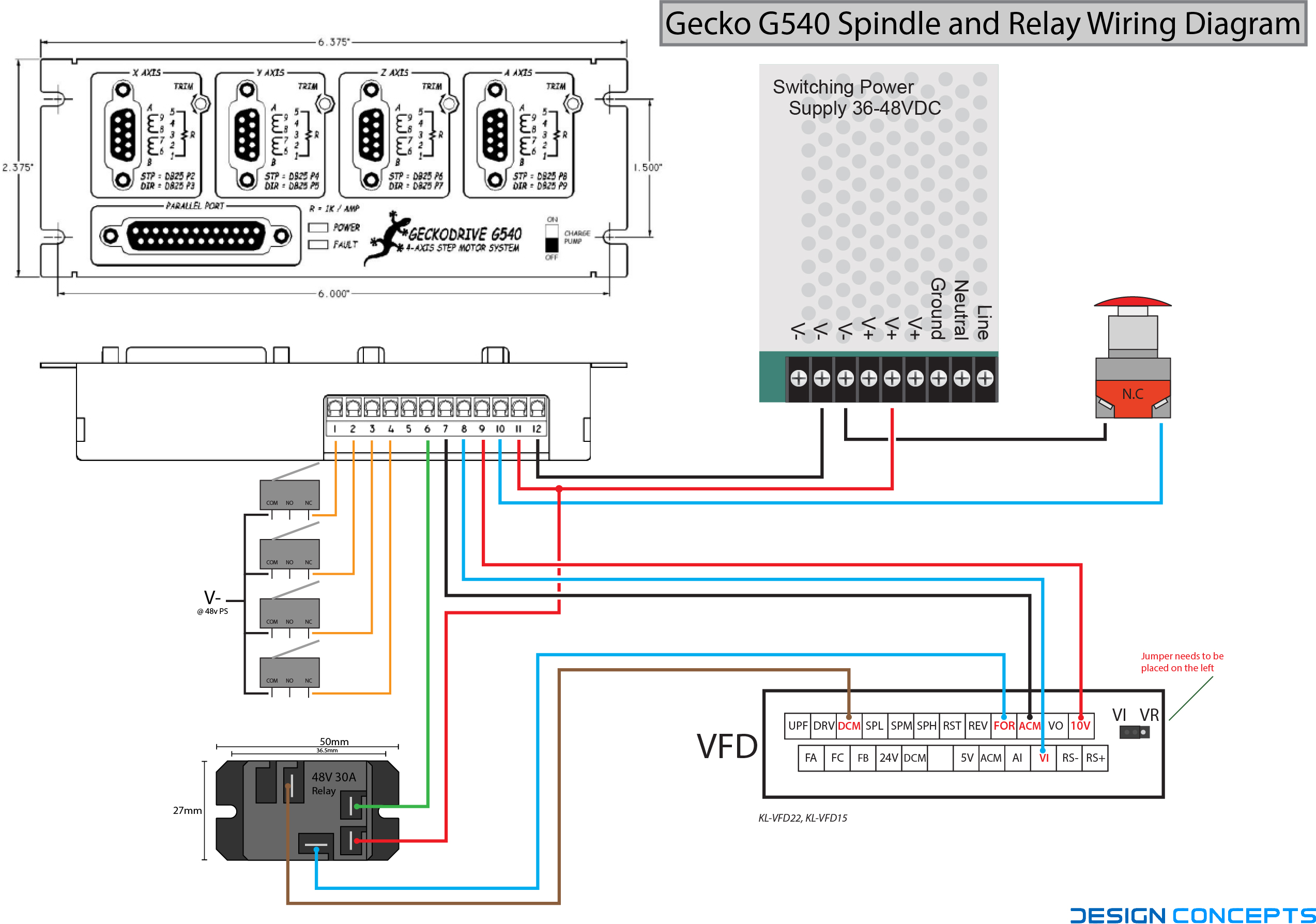 Wiring Diagram Relay Control