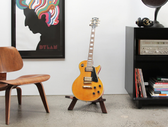 round chair on stand hanging pod stol guitar