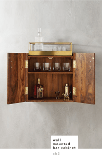 The Beauty of Bar Cabinets - Design Crush