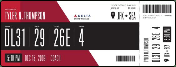 delta pass