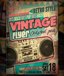 vintage-oldschool-flyer-template